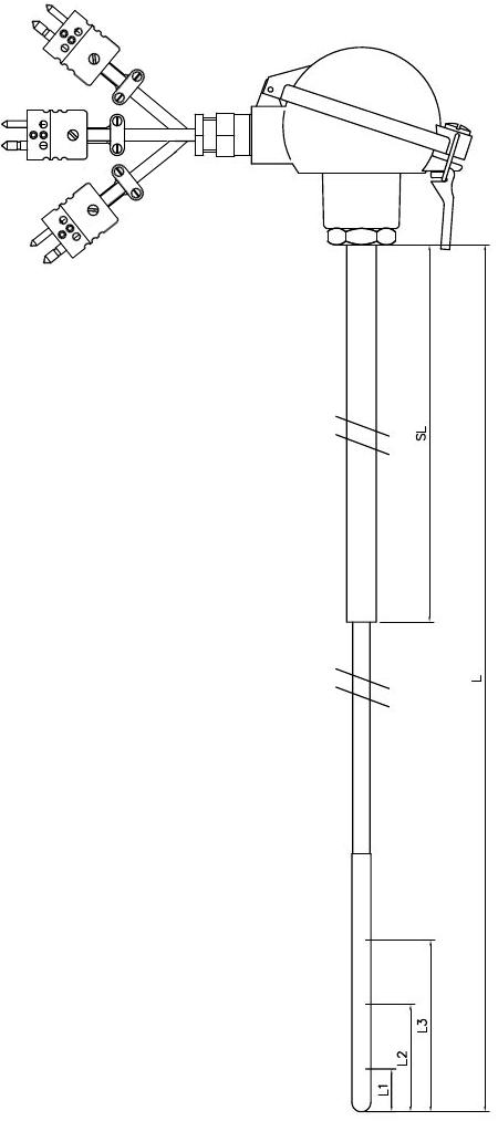 Triplex Thermocouple