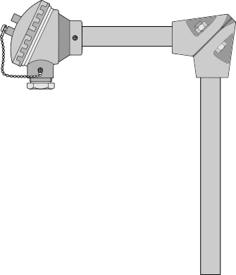 Right Angle Metal Protection Sleeve