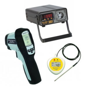 Temperature sensor components available from Peak Sensors online store.